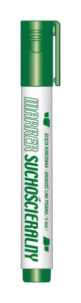 Marker suchościeralny zielony KM106-ZS p12. TETIS, cena za 1szt.