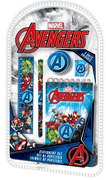 Zestaw szkolny 5el The Avengers MV15823 Kids Euroswan