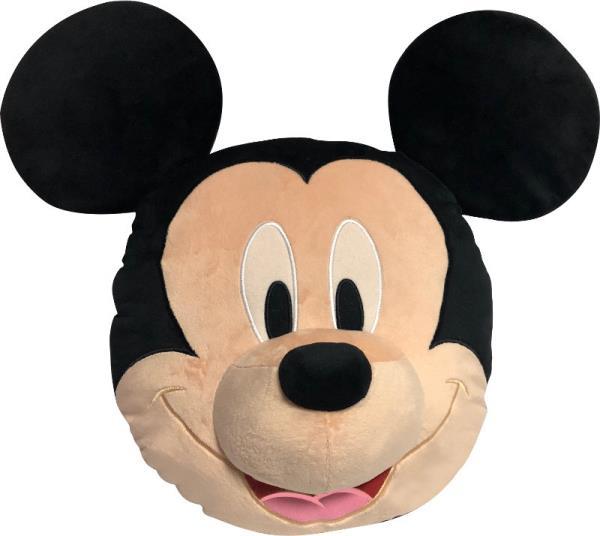 Poduszka 3D 35cm welur Mickey Mouse WD20589 Kids Euroswan
