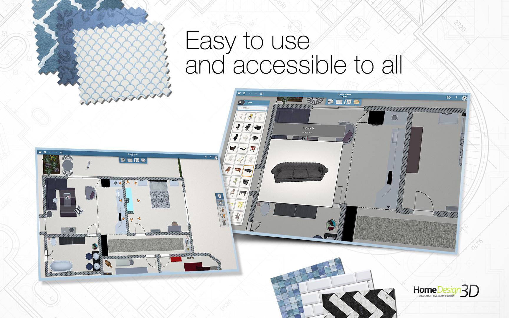 Home Design 3D PC MAC DIGITAL