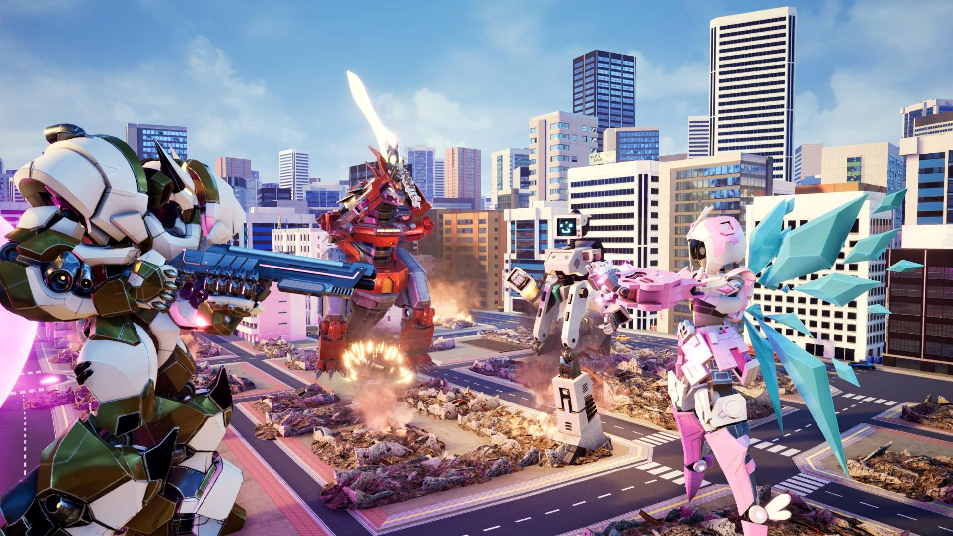 Override: Mech City Brawl (PC) Klucz Steam - Darmowa dostawa ...